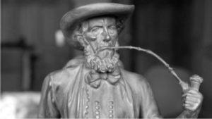 Maler Bielefeld: Erich Stenner erhält den 1973 den bronzenen Leineweber