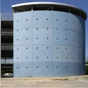 Maler Bielefeld: Betonlasur - so sieht Beton aus wie eingefärbt. Eine Spezialität von Stenner und Keitel