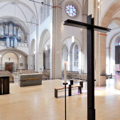 Maler Bielefeld, Denkmalpflege: Farbkonzept und Neufassung der Orgel in der Kath. St. Pancratiuskirche in Gütersloh durch Stenner und Keitel