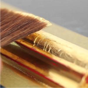 Maler Bielefeld, Denkmalpflege: Vergolden, Arbeiten mit Blattgold, eine Spezialität von Stenner und Keitel