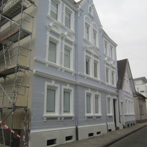 Maler Bielefeld, Fassaden: Gestaltung Stadthaus in Bielefeld durch Stenner und Keitel
