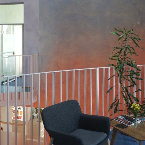Maler Bielefeld, Innenraum: Freunde der Erziehungskunst, Karlsruhe / Bürogebäude