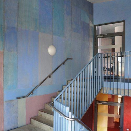Maler Bielefeld, Innenraum: Bürogebäude, Freunde der Erziehungskunst in Karlsruhe