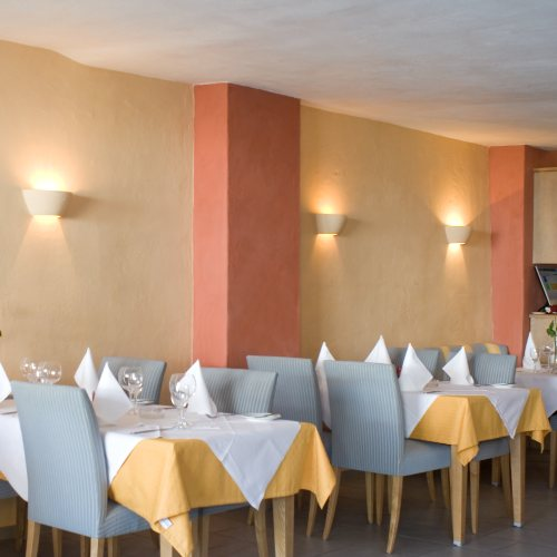 Maler Bielefeld, Innenraum: Restaurant il Faro in Bad Salzuflen / Kalklasuren und Stuccolustro