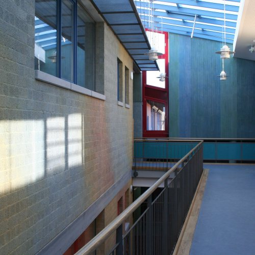 Maler Bielefeld, Innenraum: Schule Stolzenau / Lasurfarbgestaltung