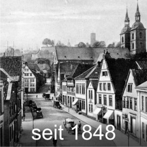 Maler Bielefeld, seit 1848, zur Historie von Stenner und Keitel