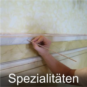 Maler Bielefeld, Spezialitäten: Betonlasuren, Holzlasuren, lichtoffene Wandlasuren, Stuccolustro, transparente Metallbeschichtung, Malerei